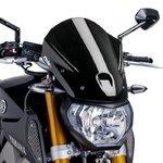 Windschild Puig Tour Yamaha MT-09 13-16 schwarz