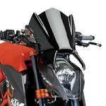 Windschild Puig KTM 1290 Super Duke/ R 14-16 schwarz