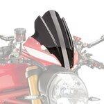 Windschild Touring Ducati Monster 1200 R 2016 Puig Naked New Generation dunkel getönt