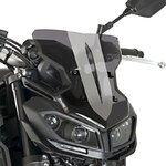 Windschild Puig Sport Yamaha MT-09 2017 dunkel getönt