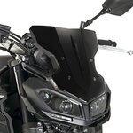 Windschild Puig Sport Yamaha MT-09 2017 schwarz