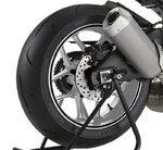 Motorrad Felgenrandaufkleber universal schwarz matt
