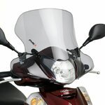 Windschild Puig City Touring Honda Scoopy SH 300 i 07-10 rauchgrau