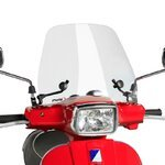 Windshield Puig Traffic Vespa S 50/125 08-13 clear