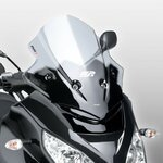 Windshield Puig V-Tech Line Sport Piaggio MP3/ Hybrid 125/250/300/400/ LT 06-11 light smoke
