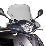 Windschild Puig City Touring Honda SH 125/150 i Scoopy 12-16 rauchgrau