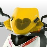 Windshield Puig City Sport Honda Lead yellow