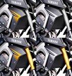 Kühler Seitenverkleidung Puig Yamaha MT-09 13-16 schwarz matt Pic:5