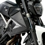 Cooler Side Cover Puig Yamaha MT-07 13-17 carbon look