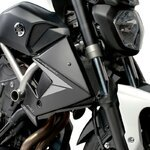 Cooler Side Cover Puig Yamaha MT-07 13-18 black mat
