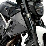 Kühler Seitenverkleidung Puig Yamaha MT-07 13-17 schwarz matt Pic:1