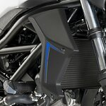Cooler Side Cover Puig Suzuki SV 650 16-18 carbon look
