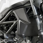 Cooler Side Cover Puig Suzuki SV 650 16-18 black mat
