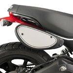 Seitenverkleidung Puig Ducati Scrambler Icon 15-17 schwarz matt