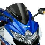 Racingscheibe Puig Suzuki GSX-R 600/750 08-10 dunkel getönt