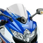 Double bubble screen Puig Suzuki GSXR 600/750 08-10 clear