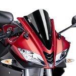 Racingscheibe Puig Yamaha YZF-R 125 08-17 schwarz