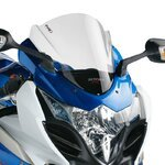 Double bubble screen Puig Suzuki GSX-R 1000 09-13 clear