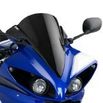 Double bubble screen Puig Yamaha YZF-R1 09-14 black