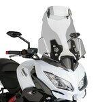 Tourenscheibe Puig Vario Kawasaki Versys 1000 12-16 rauchgrau