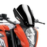 Fly screen Puig KTM Duke 125/ 200/ 390 11-13 black