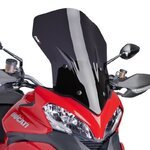 Windshield Touring Puig Ducati Multistrada 1200 2013 dark smoke