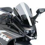 Racingscheibe Puig KTM RC 390 14-16 rauchgrau