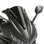 Racingscheibe Puig Honda CBR 500 R 16-17 schwarz