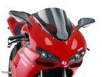 Racingscheibe Puig Ducati 848/Evo/1098/1198 07-13 dunkel getönt