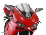 Racingscheibe Puig Ducati 848/Evo/1098/1198 07-13 rauchgrau