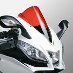 Double Bubble Screen Puig Aprilia RSV4/ RS4 125 09-13 red