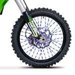 Speichencover Racetecs SPX dunkelblau/weiß