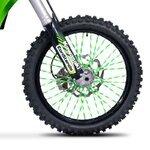 Speichencover Racetecs SPX grün/weiß