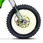 Speichencover Racetecs SPX neon-gelb/weiß