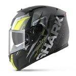 Motorbike Helmet SHARK SPEED-R SERIES 2 - TIZZY MAT Black Yellow White – M
