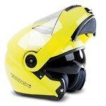 Takachi Flip-Up Helmet TK380 DVS yellow - M