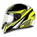 Takachi Motorcycle Full-Face Helmet TK 41 yellow - XXL