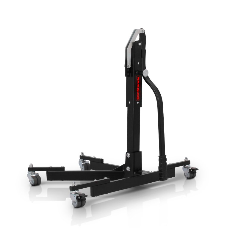 Motorbike ConStands Power Evo Central Stand Paddock Lift black without adapter plate
