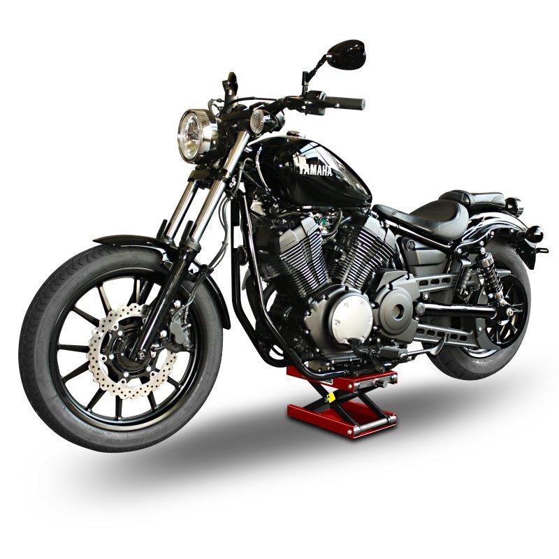 Motorcycle jack scissor lift ConStands M red