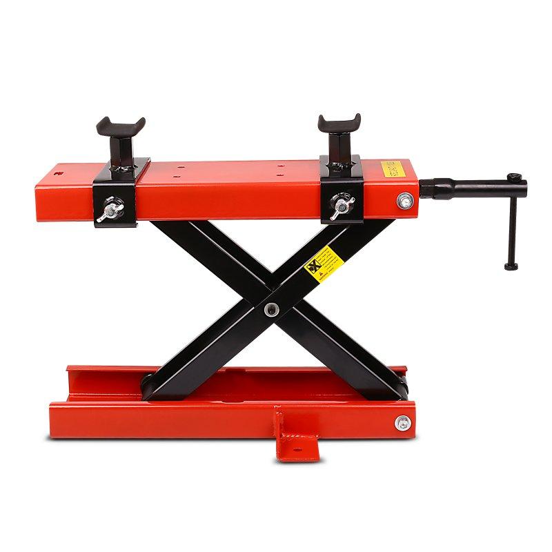 Motorcycle jack scissor lift ConStands Mini red