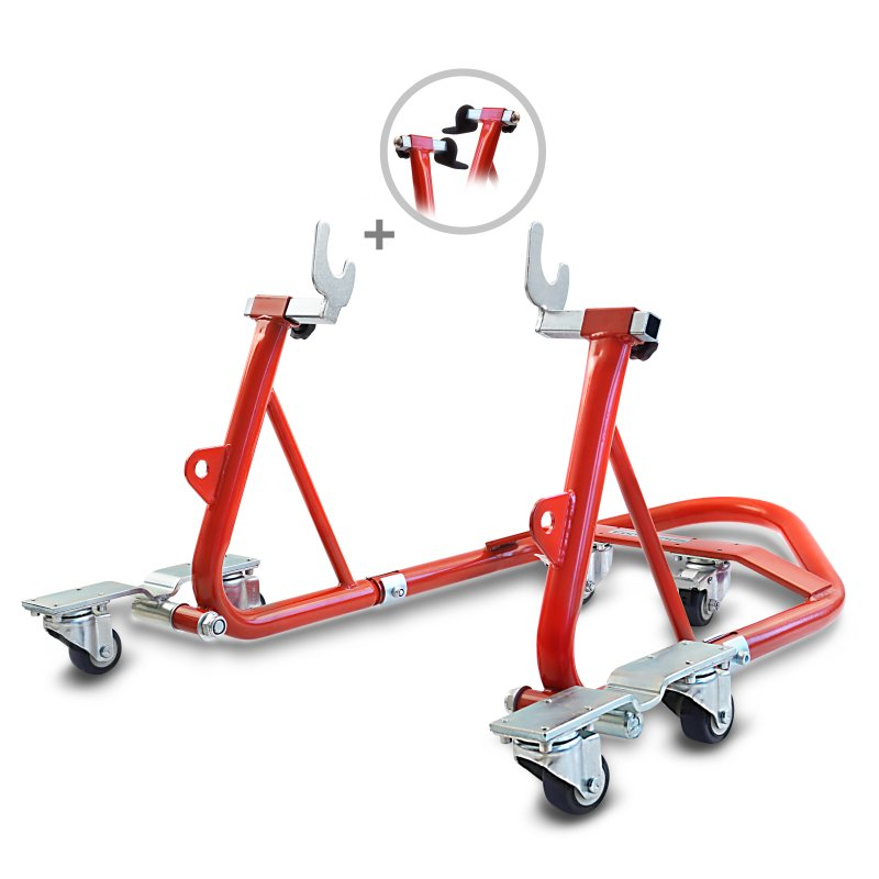 Dolly Rear Paddock Stand ConStands Mover I Universal red