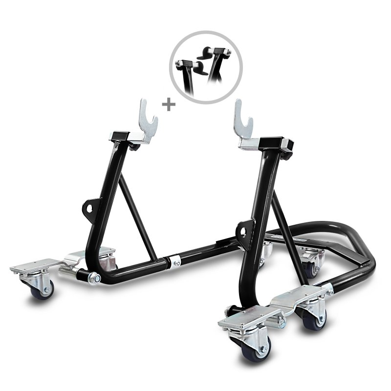 Dolly Rear Paddock Stand ConStands Mover I Universal black