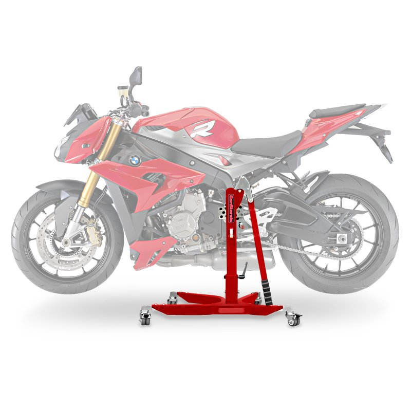 Center Paddock Stand Lift ConStands Power for BMW S 1000 R 17-19 red