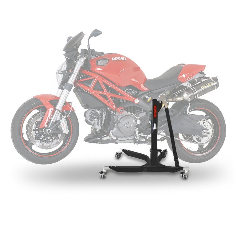 cool bequille moto centrale constands power bm ducati monster with leve moto pas cher. Black Bedroom Furniture Sets. Home Design Ideas
