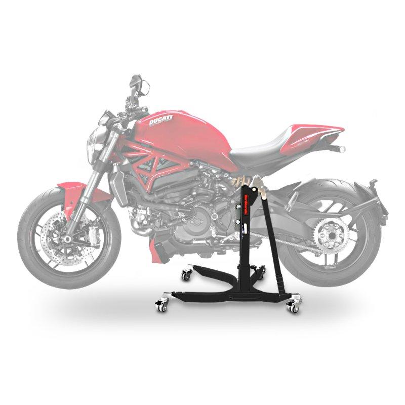 Center Paddock Stand Lift ConStands Power Ducati Monster 1200/ S 14-19 black mat