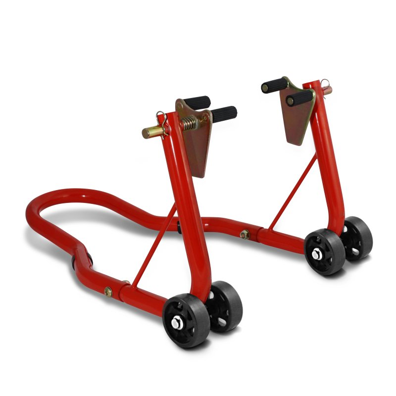 Motorcycle paddock stand ConStands Classic Front red