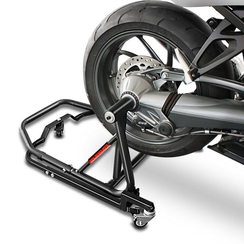 Caballete Moto Trasero para BMW HP2 Enduro 05-08 ConStands Single One Negro