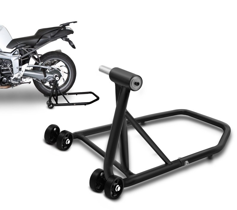ConStands Rear Paddock Stand Ducati Multistrada 1000 03-06 black mat, Single Swing Arm, adaptor incl.