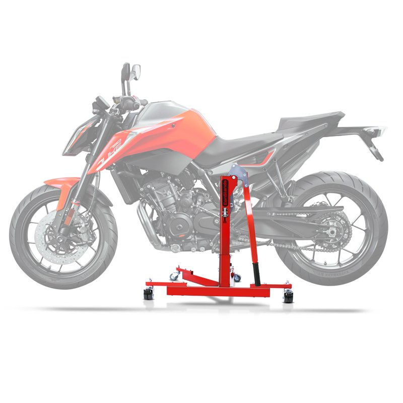 Center Paddock Stand Lift ConStands Power Evo for KTM 1290 Super Duke/ R 17-19 red