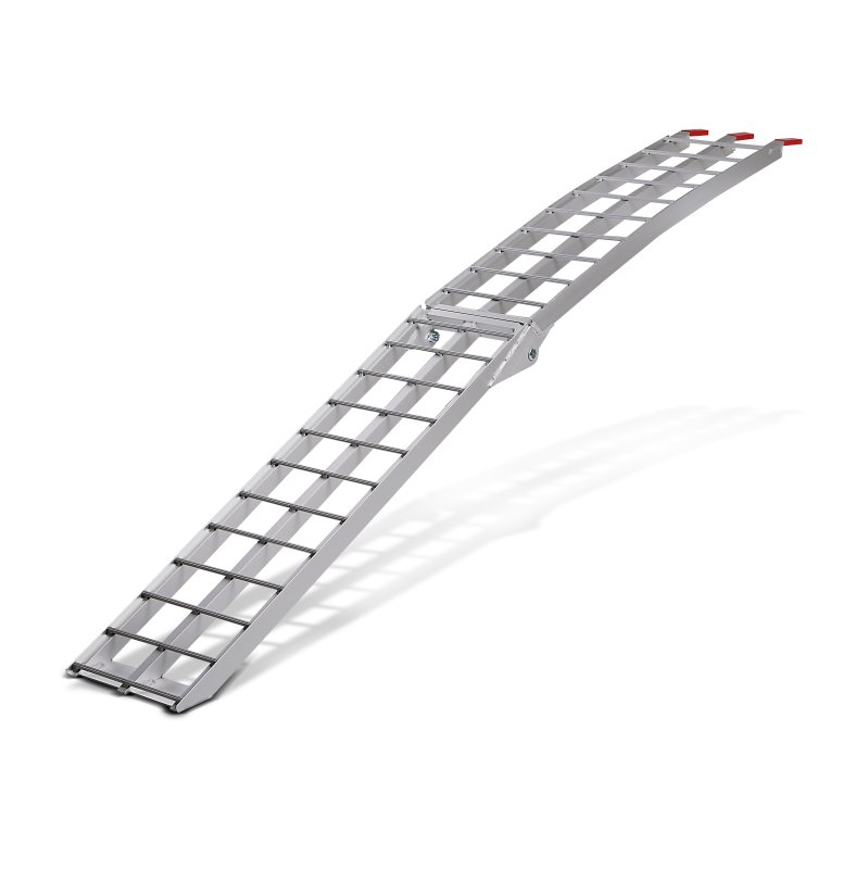 Constands aluminium loading ramp  II, max. 340 kg, folding, for motorbike, scooter, quad, ATV